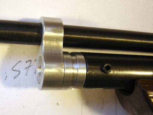 Making a Barrel Band/Pivot Plug for a Custom Crosman 1377, Part 2
