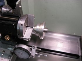 Mandrel Mounted Pulley Fig